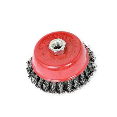 Replacement Wire Brush Cup Wheel Stainless Steel Polishing Power Tools Supplies