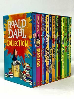 Roald Dahl Collection 16 Books Box Set by Roald Dahl Book The Cheap Fast Free