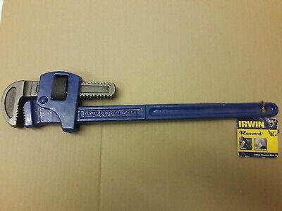 """Record Irwin 18"""" inch, 450mm stillsons, adjustable wrench 51mm or 2"""". T300/18,"""