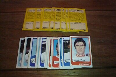A&BC Football Cards Yellow Back - 2nd Series 1968 - VGC!  Pick The Cards Needed
