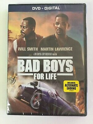 Bad Boys For Life, DVD, & DIGITAL, Brand New Sealed! Will Smith, Martin Lawrence