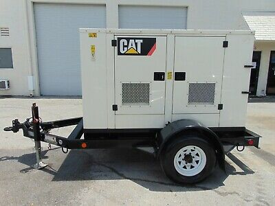 2012 Cat X3-30 Kw Portable Diesel Generator - Outstanding Operating Condition
