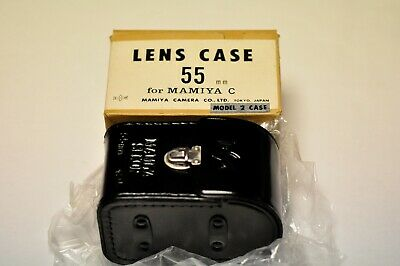 Mamiya model 2 lens case for their 55mm twin lens. New