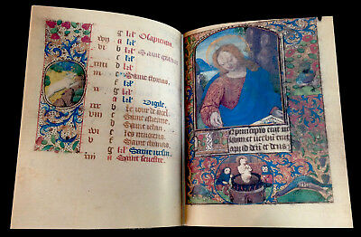 CATHOLIC CHURCH - BOOK OF HOURS USE OF ORLÉANS, 1490, Facsimile