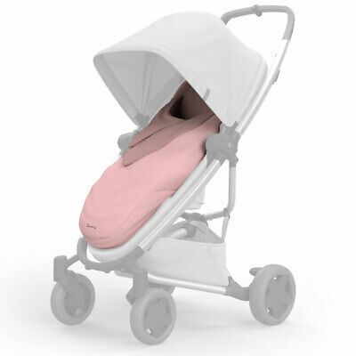 BRAND NEW Quinny Pushchair Buggy Pram Stroller Footmuff CosyToes Blush
