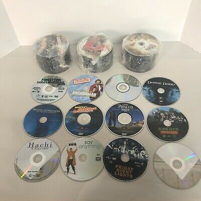"""200 used DVD Lot  """"STOCK PHOTO'S""""- No Case - No Art - Disc Only (4/30 BIN)"""