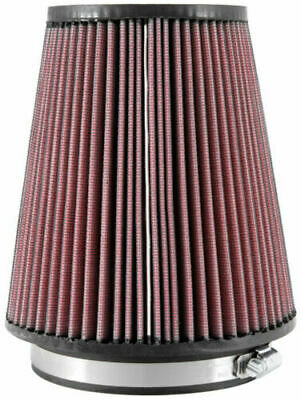 64 mm Height; 3.5 in Flange ID; 5 in K/&N RB-0710 Universal Clamp-On Air Filter: Round Straight; 2.5 in Top 127 mm 89 mm 89 mm Base; 3.5 in