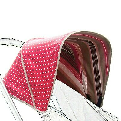 Reversible Canopy for Bugaboo Cameleon (Cherry) Red
