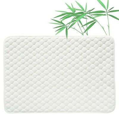 Quilted Pack N Play Crib Mattress Pad Liner Thicker Waterproof Changing Pad L...