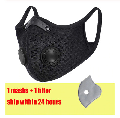 Reusable Washable Activated Carbon Filter With Respirator Filters Face Filter