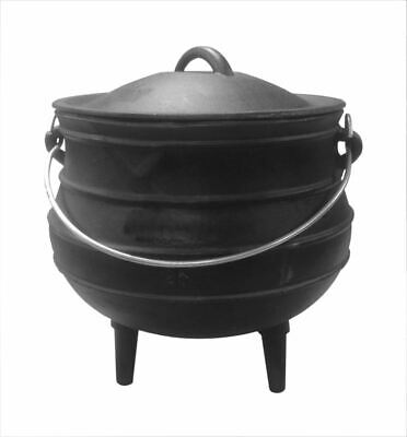 Cast Iron Stew Pot Camping Cooking Pot Dutch Oven Stock Pot Open Fire Pot