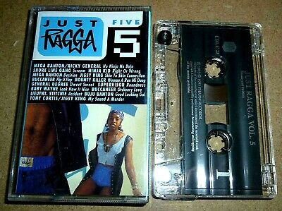 Just Ragga 5 / MC Kassette / 1993 / Reggae Cassette Tape / Bounty Killer, Buju..