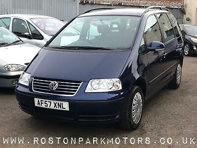 2007 Volkswagen Sharan 1.9 TDI S 115 5dr 7 seats DAB Bluetooth MPV Diesel Manual