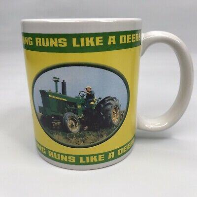 John Deere Coffee Cup Mug #31251 2004 Collector Series Licensed Houston Harvest