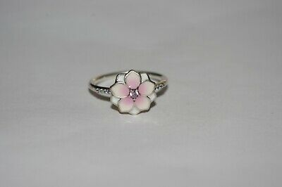 King Baby Studio Sterling Silver Open Ring with Roses K20-5963-7 size 7