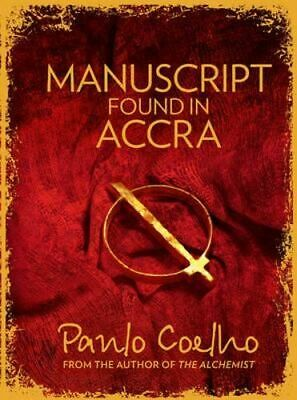 NEW Manuscript Found in Accra By Paulo Coelho Paperback Free Shipping