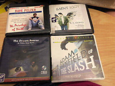 Young Adult/Teen Audio Book Cd Lot 32