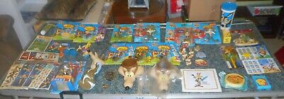 51pc Lot Vintage & Modern Warner Bros.® Road Runner™ Wile E. Coyote™ Collectible