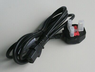 Power plug type G 250V 5A FUSED Spina Tipo G con Fusibile 1.8m C13 UK BS1363/A