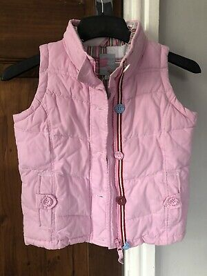Girls Gilet Age 7 Joules Pink