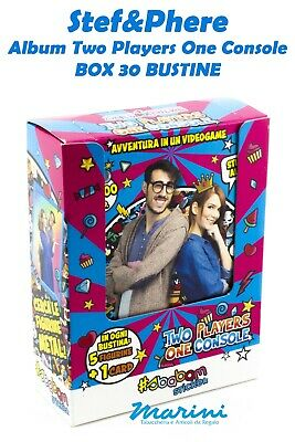 Stef&Phere Two Players One Console 30 Bustine Di Figurine Stickers Raccolta 2020