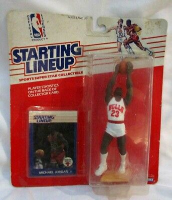 Michael Jordan RC 1988 Starting Line Up Kenner ROOKIE Figure-Bulls G RC HOF GOAT