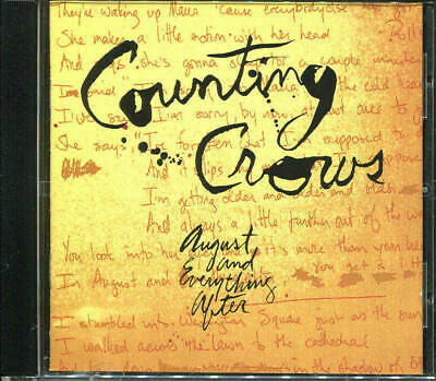 CD  Counting Crows  August And Everything After GEFFEN (1993)