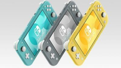 Brand New Nintendo Switch Lite (Gray Turquoise Yellow or Coral) | READY TO SHIP