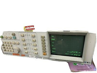 HP Agilent 8756A  Digital Scalar Network Analyzer Unit