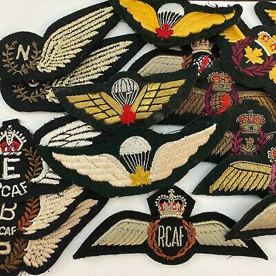 Canadian Armed Forces Royal Canadian Air Force  RCAF Trade / Wings Badge