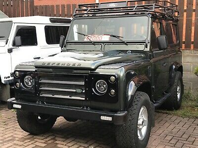 1991 Land Rover Defender County Station Wagon LAND ROVER DEFENDER 90 200TDi CSW TONGA GREEN LHD BODY OF EXTENSIVE REBUILD
