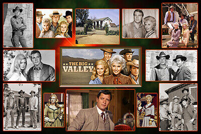 "/""The Big Valley/"" Peter Breck 4/""x6/"" MAGNET PRINT"