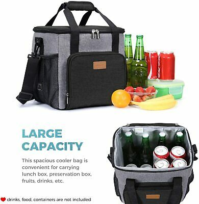 17 L Portable Insulated Heavy Duty Leakproof Cooler Bag Cooling Box for Adult