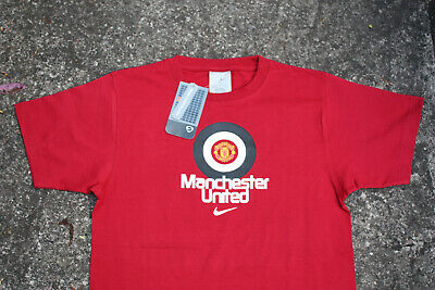 boys official manchester united top bnwt christmas stocking filler age 7-8 9-10