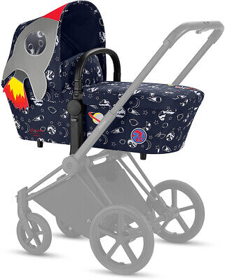 Cybex Priam Carrycot Carry Cot Lux Space Rocket Crib Bassinet Baby Childrens