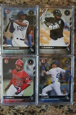2020 Bowman Next Baseball America's Top 100 Prospects Complete 60 Card Set