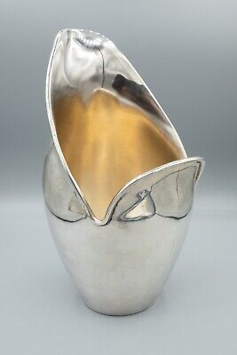 """Vintage Fabian Mexico Sterling Silver Modernist Water Pitcher 398.5g - 7 7/8"""" H"""