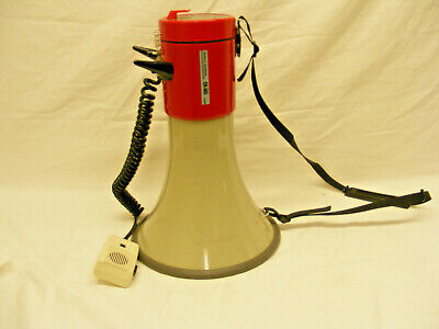 Professioal Red Megaphone Show ER-56S  series with built-in siren.