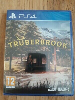 Truberbrook PS4 Adventure point and click game UK PAL - New & Sealed