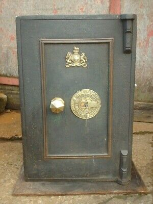 Antique Victorian  Phillips And Son Safe With Keys