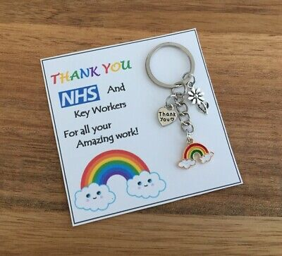 Be Safe Miss You Bee Keyring Stay Safe Gift for Mum Dad Nan Nana Sister Aunt 🐝