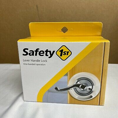 Lever Handle Baby Proof Child Lock Safety 1st One Hand Use 48400