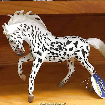 Breyer Horse Collectables New Corral Black Leopard Knabstrupper Mare