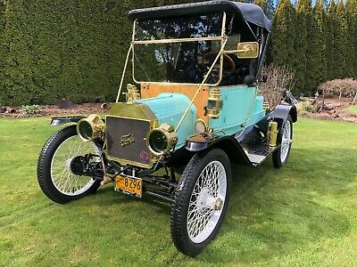 """1912 Ford Model T Torpedo Roadster 1912 Ford Model T """"Rare"""" Torpedo Roadster Convertible A"""
