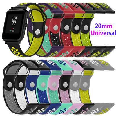 Silicone Bracelet Replacement Wristband For Amazfit Bip Samsung Gear Sport S2