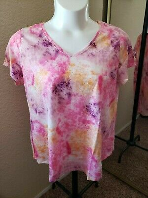 SONOMA Goods For Life NWT Size XXL Multicolored V Neck Tee