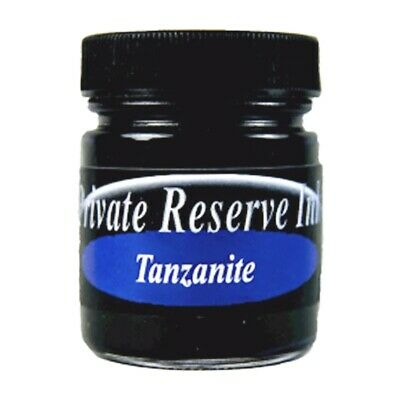 Private Reserve Ink 66ml Bottle Fountain Pen Ink - Tanzanite (07-tz)