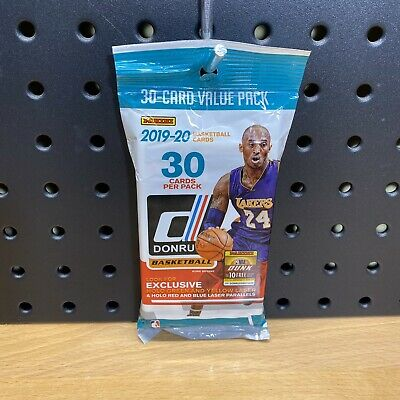 NBA Panini 2019-20 Donruss Basketball Trading Card Fat Pack [30 Cards] Sealed