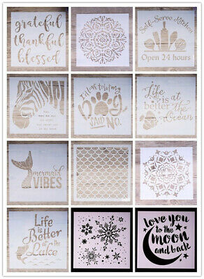 Mandala Stencil DIY Craft Walls Painting Stamping Scrapbooking Card Stamp Albu