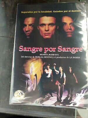 SANGRE POR SANGRE DVD Blood in Blood out BRAND NEW in spanish and English RARE